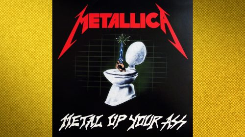 "¿Por qué El Metal Today es ahora Metal por detrás? COMO MUCHOS HAN ADIVINADO YA, ES UNA REFERENCIA AL ""METAL UP YOUR ASS"" DE METALLICA"