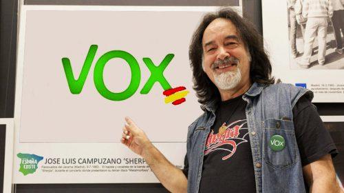 Vox ficha al rockero Sherpa (Barón Rojo) EL GRUPO VERDE SE FIJÓ EN EL MÚSICO AL VER SUS DURAS CRÍTICAS AL GOBIERNO ANTE LA CRISIS DE LA PANDEMIA